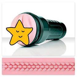Мастурбатор с вибрацией Fleshlight Vibro Pink Lady Touch, три вибропули, стимулирующий рельеф 18+