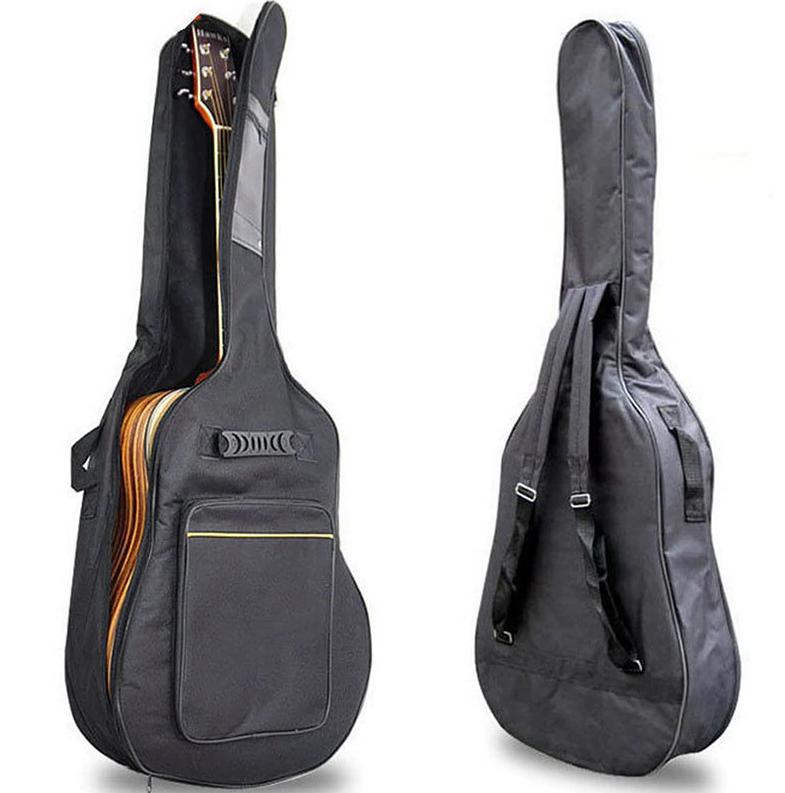 Чохол для акустичної гітари чорний