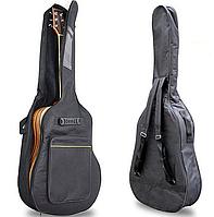 Чохол для акустичної гітари чорний, фото 1