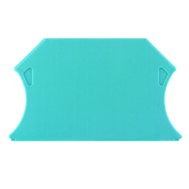 Weidmuller Концевая пластина перегородка WAP WTR2.5/ZZ BL (100 шт), 1074680000