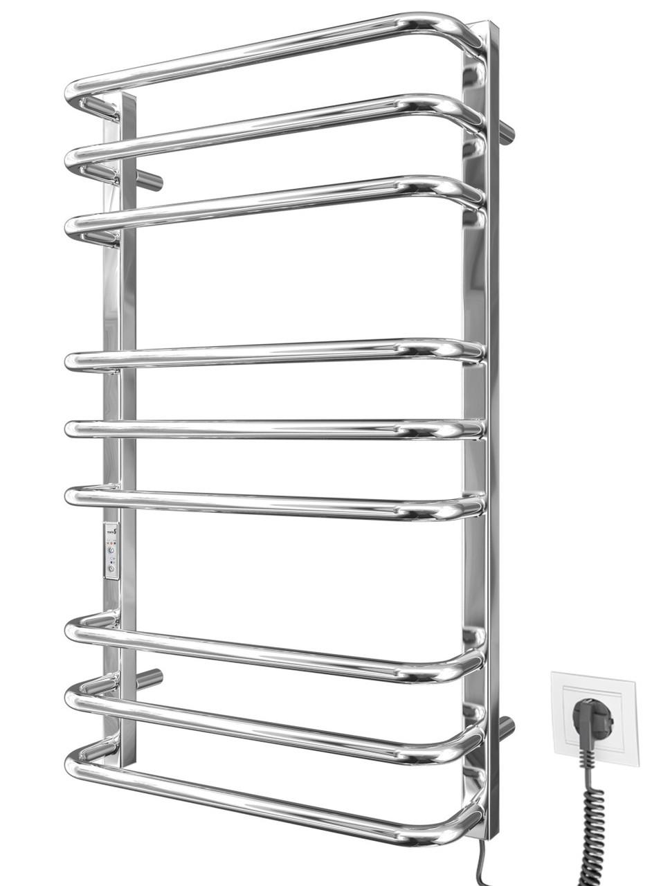 Электрический полотенцесушитель MARIO Премиум Стандарт-I 800x500/170 TR таймер-регулятор