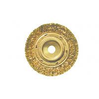 Щетка дисковая для УШМ искробезопасная 125 мм, хвостовик М14 GARWIN (GSX-TIA02)