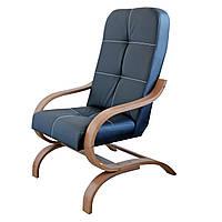 Конференц кресло Bonro Comfort Manila (экокожа черный), фото 1