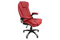Кресло руководителя O-8025 бордовое, фото 1