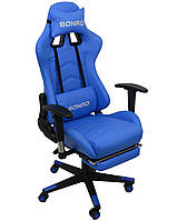 Кресло геймерское Bonro 2007-1 синее, фото 1