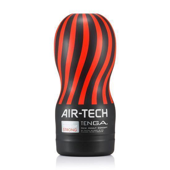 Мастурбатор Tenga Air-Tech Strong, более высокая аэростимуляция и всасывающий эффект