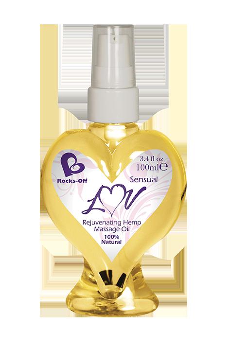 Массажное масло Rocks Off Luv Massage Oils Sensual 18+