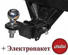 Фаркоп под квадрат Volkswagen Amarok (с 2010--) Vastol