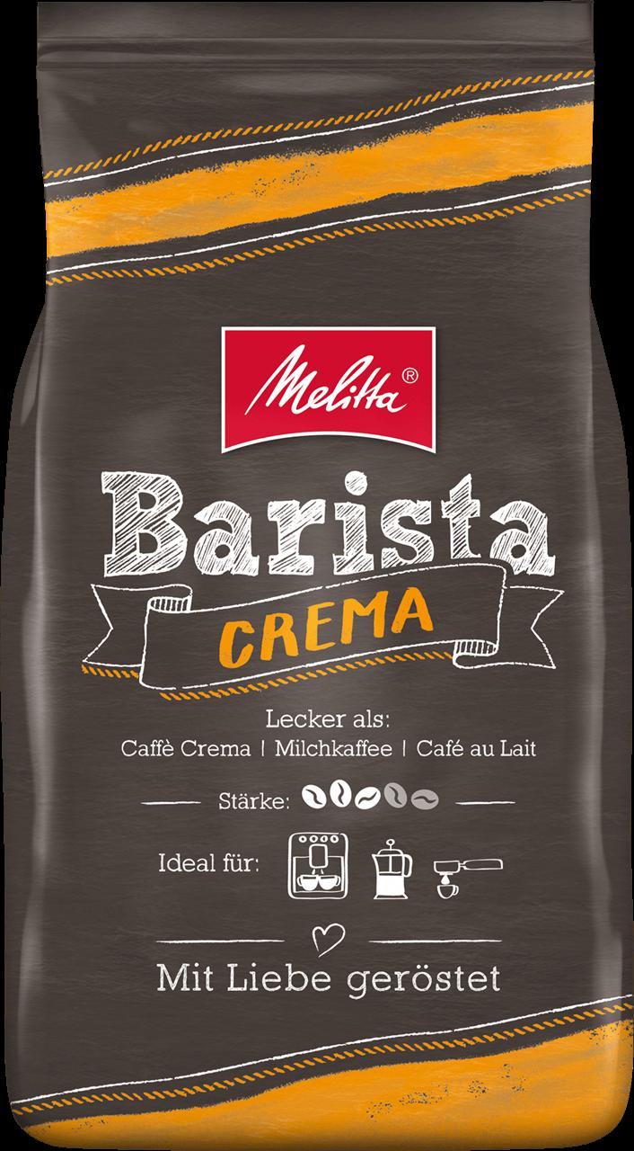 """Кава в зернах Melitta Barista """"Crema"""", 1 кг"""