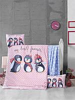 Детский комплект постельного белья Премиум ранфорс Best Friends 100x150 см. (44254)