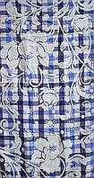 Полотенце лицо лен Цветок (уп. 6 шт.), фото 1