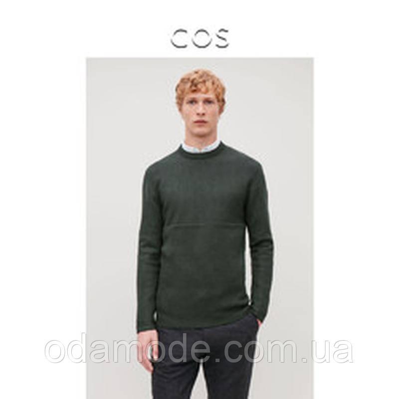 Джемпер мужской зелёный COS