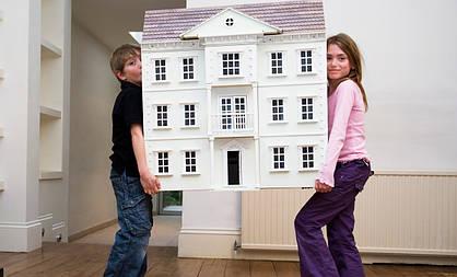 Домашний переезд с детьми