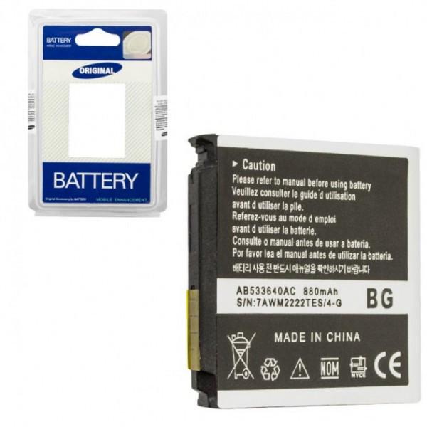 Аккумулятор для Samsung AB533640CU 880 mAh для S3600/F330/G400/G600 AAA класс
