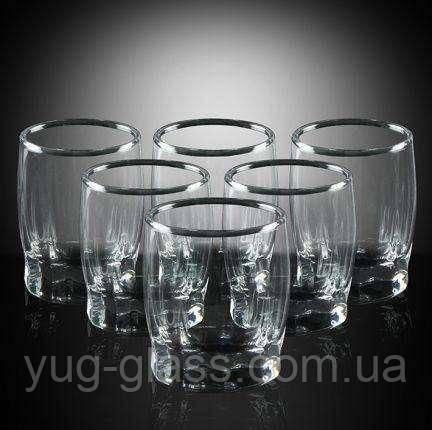 Набор широких стаканов