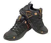 Кроссовки  черные натуральная кожа на шнуровке (М-4ZN ор), фото 1