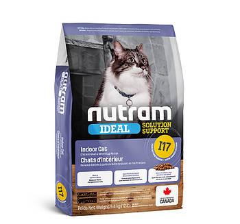 Сухой корм для привередлевых кошек живущих дома I17 NUTRAM 5,4 кг