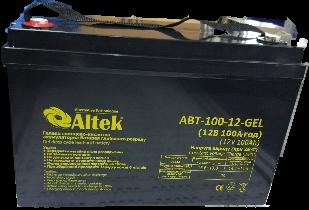 Аккумуляторные батареи Altek ABT-100-12-AGM