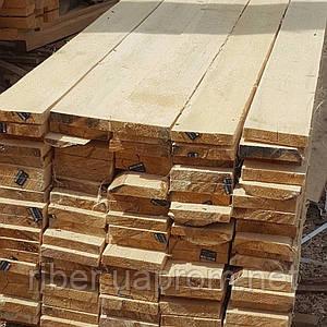 Обрезная доска толщиной 25, 30, 40 и 50мм длина 4-4,5м