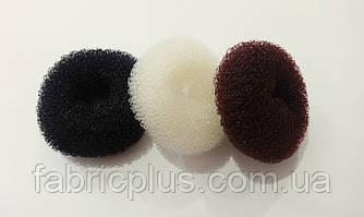 Мочалка бублик для волос 7 см