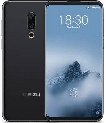 """Смартфон Meizu 16 6/64Gb Black Global, 20+12/20Мп, 8 ядер, 2sim, екран 6"""" AMOLED, 3010mAh, 4G"""
