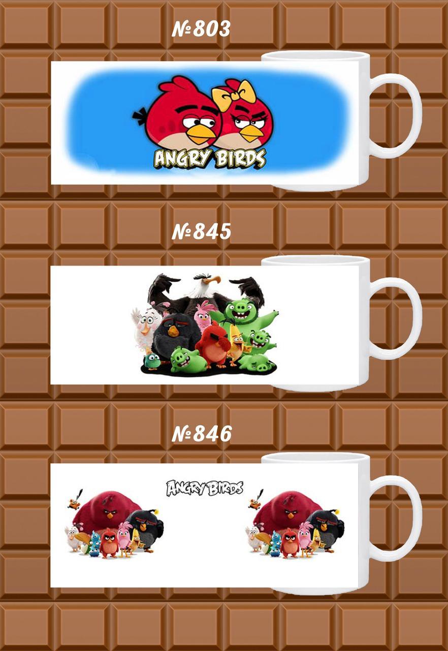 "Друк на чашках ""Angry Birds"""