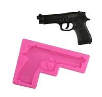 """Молд кондитерский """"Пистолет"""" - размер молда 10,5*7,5см, силикон"""