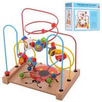Деревянная игрушка Лабиринт на проволоке 02075