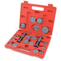 Комплект для обслуживания тормозных цилиндров TOPTUL 18 ед. (два винта) JGAI1801