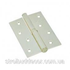 Петли накладные для межкомнатных дверей 100/75/2,5 золото Кедр упаковка 2 шт