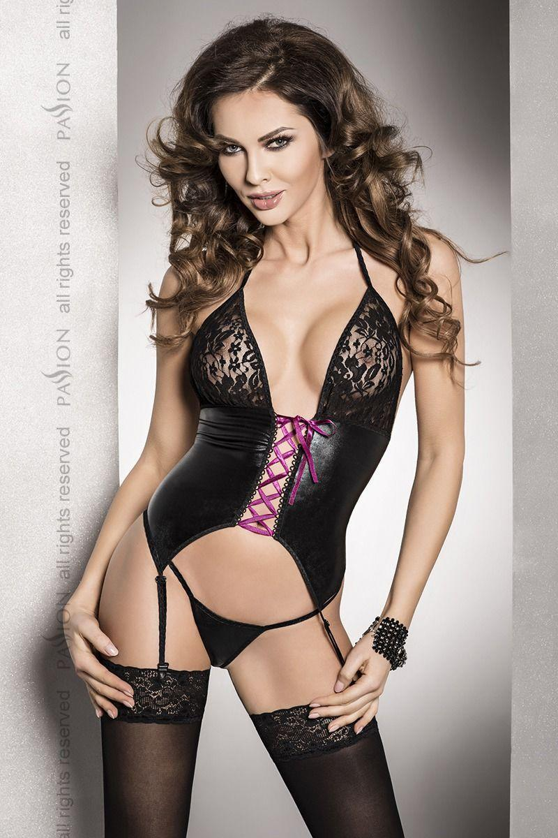 ROXY CORSET black S/M- Passion Exclusive