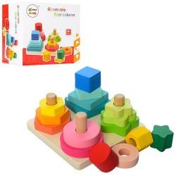 Деревянная игрушка Геометрика 02085