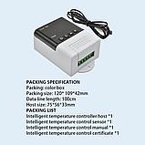 Терморегулятор XH-W3001  220В 10А с выносным датч.-100см (-50 +110), фото 6