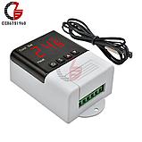 Терморегулятор XH-W3001  220В 10А с выносным датч.-100см (-50 +110), фото 2