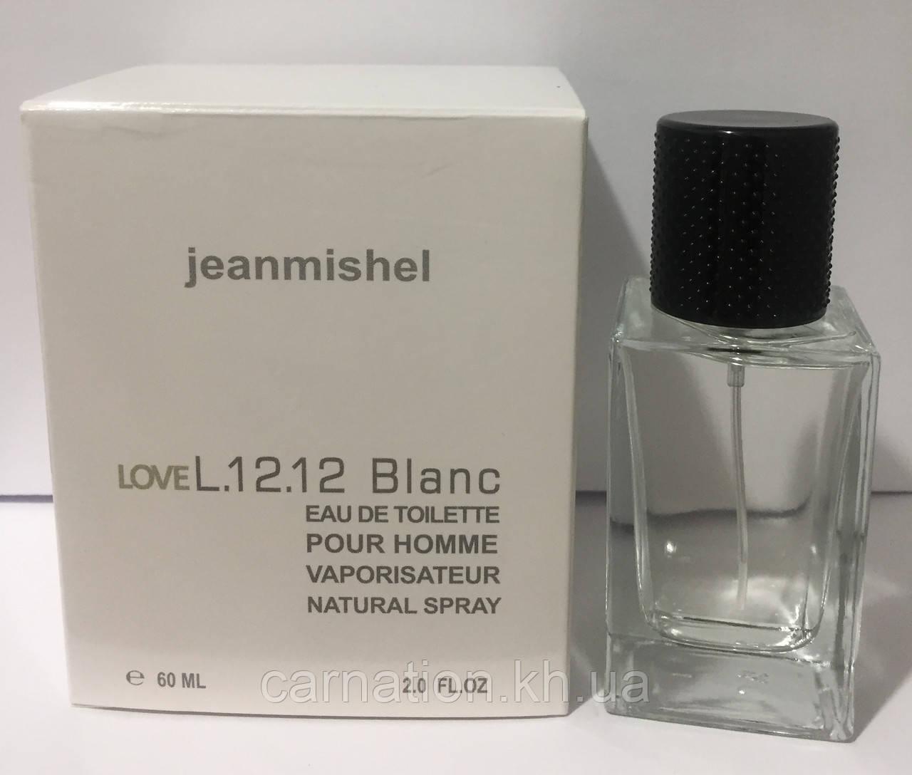 Чоловічий парфум Jeanmishel Love L. 12.12 Blanc 60 мл
