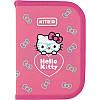 Пенал 1 відділення з 2-ма відворотами 622 Hello Kitty, Kite