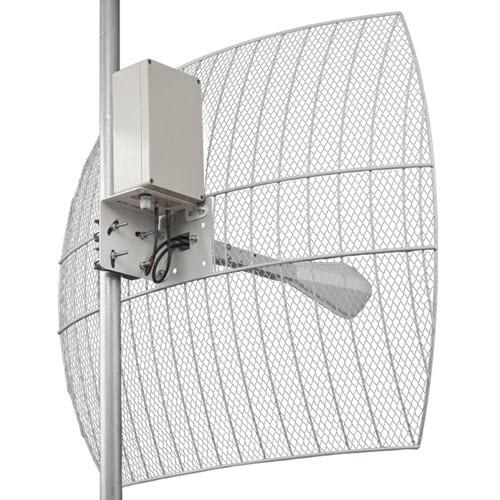 Kroks KNA21-1700/2700 BOX - параболическая MIMO антенна 21 дБ с гермобоксом