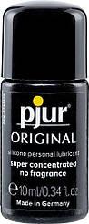 Универсальная смазка на силиконовой основе pjur Original 10 мл, 2-в-1: для секса и массажа 18+