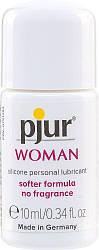 Смазка на силиконовой основе pjur Woman 10 мл, без ароматизаторов и консервантов специально для нее 18+