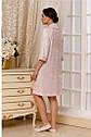 Халат натільний жіночий рожевий, L, XL, 2XL TM Emmi, фото 2