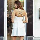 Гипюровое платье с баской, фото 4