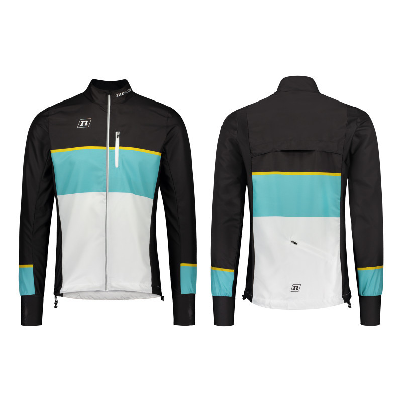 Мастерка Noname WS RUNNING JKT PLUS UX 20 WHITE TEAL BLACK