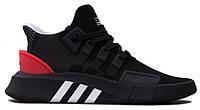 """Мужские кроссовки Adidas Equipment *EQT* ADV Core """"Black Red White"""" - """"Черные Красные Белые"""""""