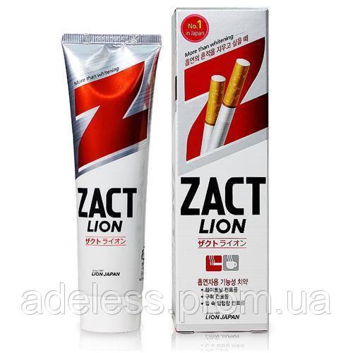 Отбеливающая зубная паста ZACT Lion, 150 мл.