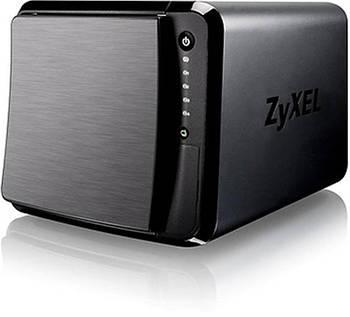 Сетевое хранилище Zyxel NAS542 на 4 диска (до 12 ГБ каждый), 2xLAN GE, Link Aggregation, 3xUSB3.0, слот для карт SD/XC