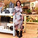 Платье с поясом шелковое, фото 5