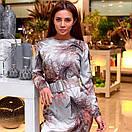 Платье с поясом шелковое, фото 6