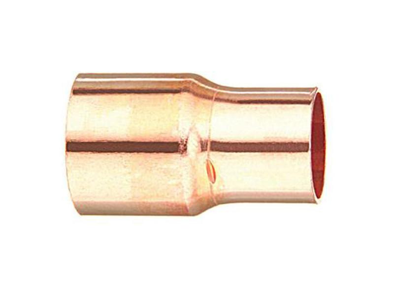 Перехід мідний метричний під пайку 22x18 мм M-N