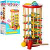Деревянная игрушка Стучалка башня 02120