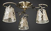 Люстра модерн античная бронза AR-004840 тройка